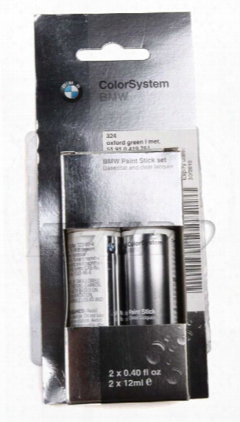 Touch-up Paint (code 324) (oxford Green) - Genuine Bmw 51910419761