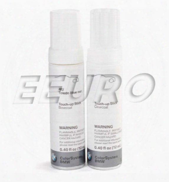 Touch-up Paint (code 482) (toledo Blue) - Genuine Bmw 51910419760