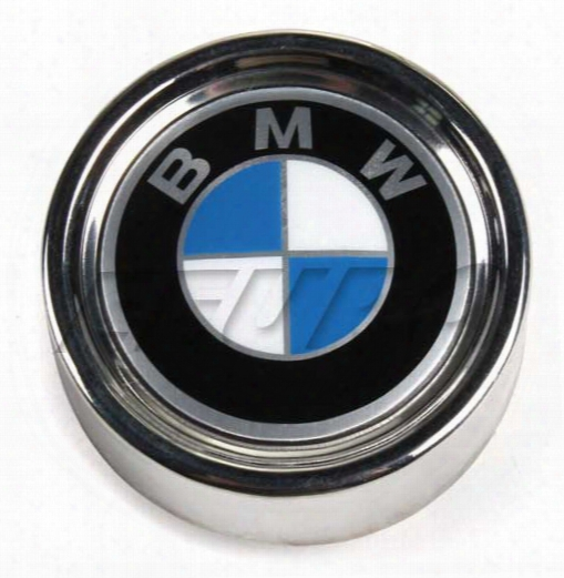 Wheel Center Cap (w/ Emblem) - Genuine Bmw 36131114180