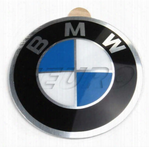 Wheel Center Emblem (adhesive) (45mm) - Genuine Bmw 36131181082