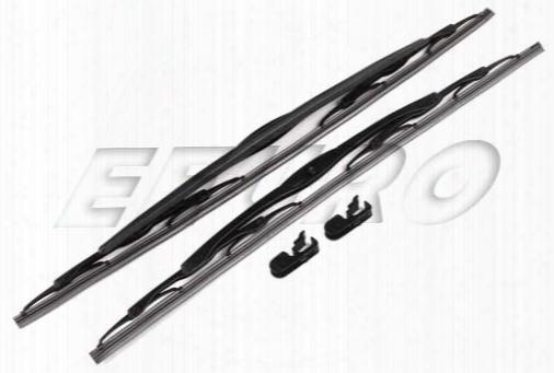Windshield Wiper Blade Set - Front - Genuine Volvo 30784428