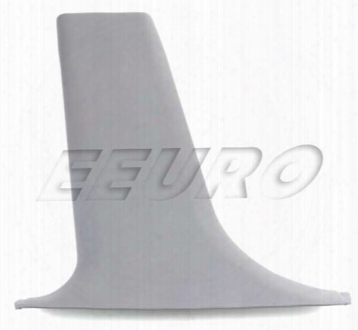 B-pillar Cover - Driver Side (center Lower) - Genuine Bmw 51438174437