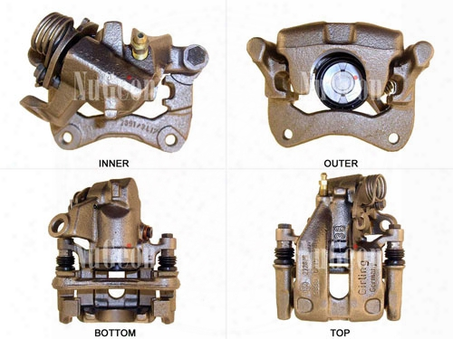 Disc Brake Caliper - Rear Driver Side - Nugeon 2203310l Vw