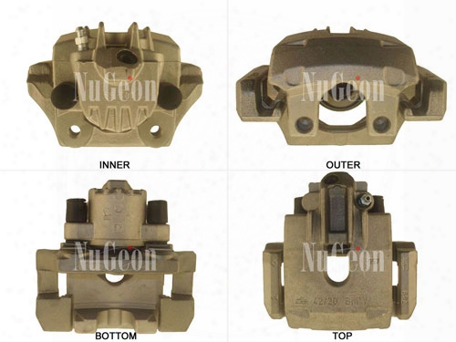 Disc Brake Caliper - Rear Passenger Side - Nugeon 2202382r Bmw