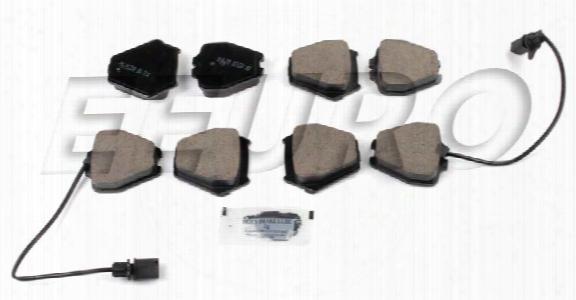 Disc Brake Pad Set - Front - Akebono Eur839 Audi 4b0698151l