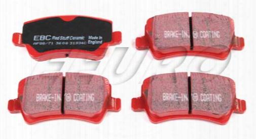 Disc Brake Pad Set - Rear (w/ Epb) - Ebc Redstuffs Dp31934c Volvo