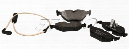 Disc Brake Pad Set - Rear (w/ Sensor) - Genuine Bmw 34212157591