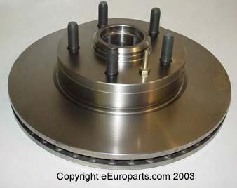 Disc Brake Rotor - Front - Brembo 25244 Volvo 31262100
