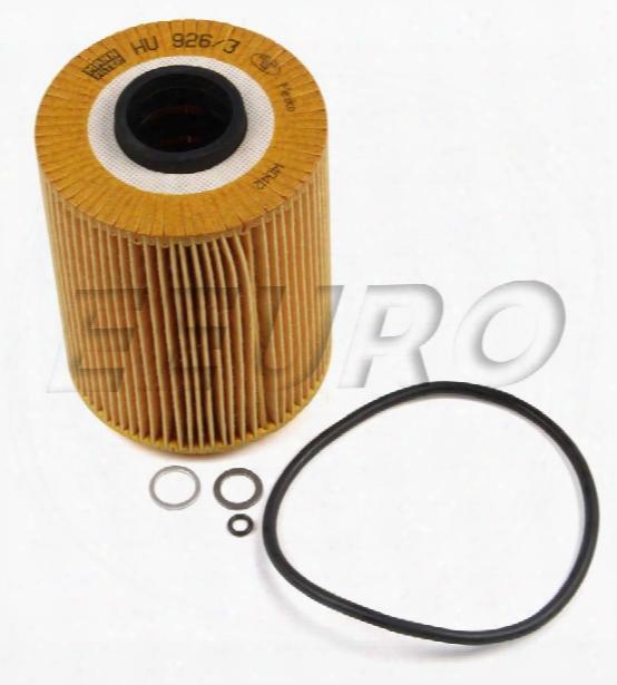 Engine Oil Filter - Mann-filter Hu9263x Bmw 11421730389