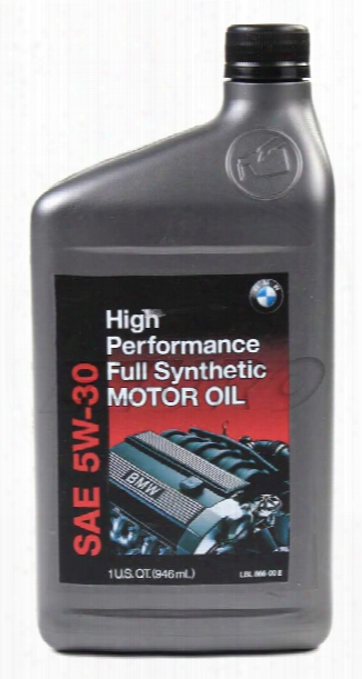 Genuine Bmw Engine Oil (5w30) (1 Quart) (high Performance) (castrol) 07510017866