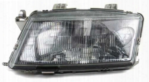 Headlight Assembly - Driver Side - Valeo 87259 Saab 4676391