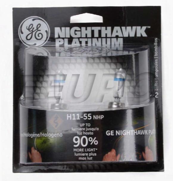 Light Bulb Set (headlight) (h11) - Nighthawk Platinum 62267 Mini