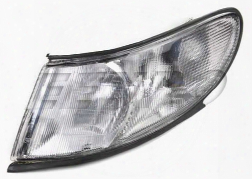 Proparts Corner Light Assembly - Driver Side (e-code) (clear) Saab 32019336