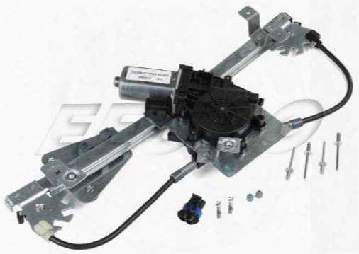Proparts Window Regulator - Rear Passenger Side (w/ Motor) Saab 32019526
