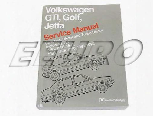 Repair Manual (gti) (golf) (jetta) - Bentley