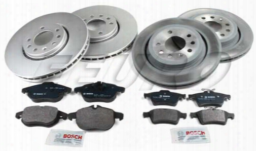 Saab Disc Brake Kit (complete) (302mm) (292mm) - Eeuroparts.com Kit