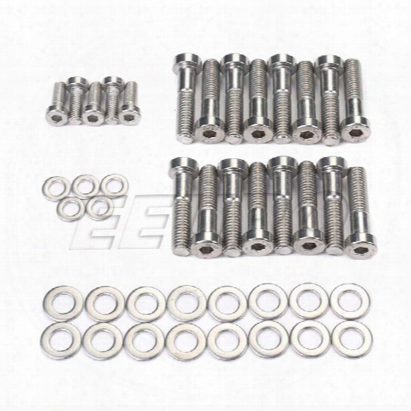 Saab Valve Cover Dress Up Kit (stainless) - Eeuroparts.com Kit