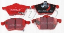 Disc Brake Pad Set - Front - EBC RedStuffs DP31443C SAAB 93192749