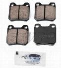Disc Brake Pad Set - Rear - Akebono EUR709 SAAB 4837241