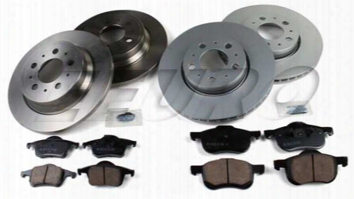 Volvo Disc Brake Kit (complete) (285mm S60/s80 V70 Xc70) - Eeuroparts.com Kit