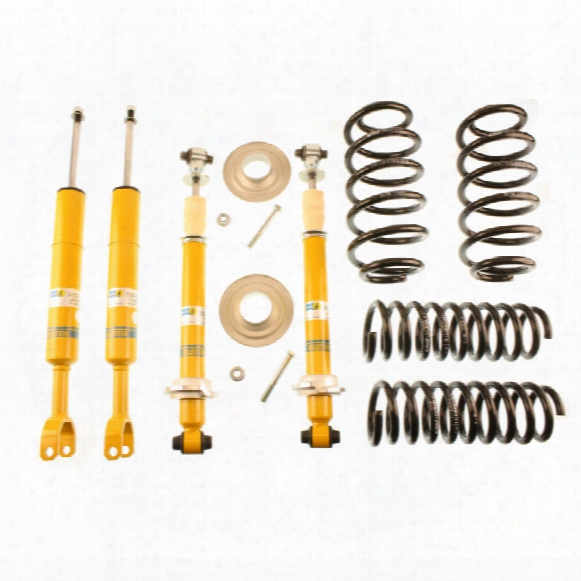 Audi Suspension Strut And Coil Spring Lowering Kit - Front And Rear (b12 Pro-kit)