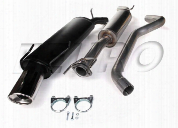 Exhaust System Kit (cat-back) (performance) - Mototec Mtesa951 Saab