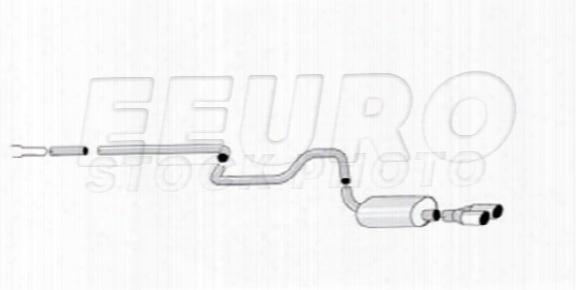 Exhaust System Kit (cat-back) (performance) (sport) - Mototec Mtesa944 Saab