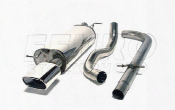 Exhaust System Kit (cat-back) (sport) - Mototec Mtevw404 Vw