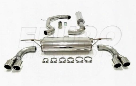 Exhaust System Kit (cat-back) (touring) - Mototec Mtevw701 Vw
