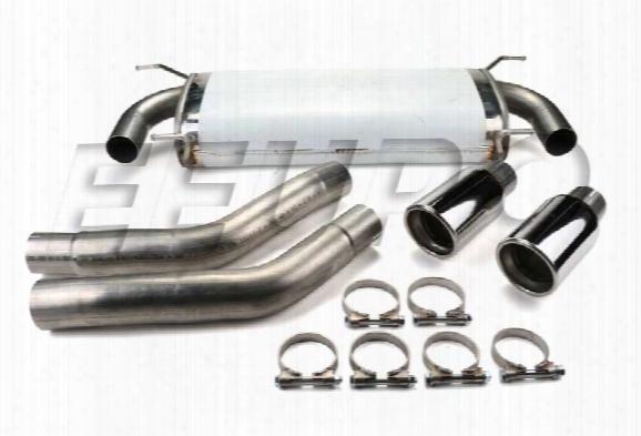 Exhaust System Kit (performance) (dual) - Mototec Mtebm332 Bmw