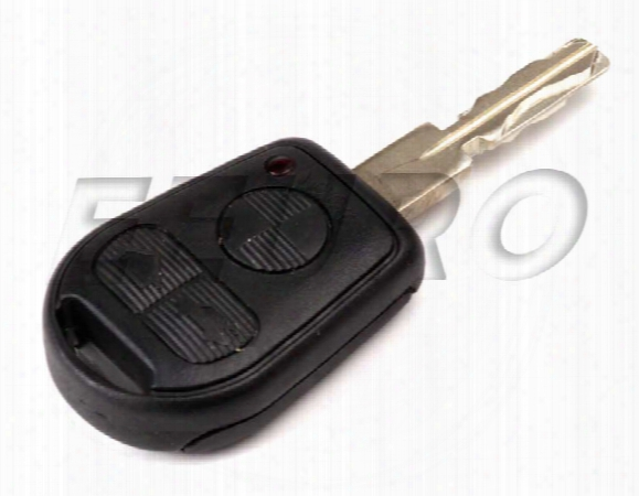 Ignition Key (w/ Remote Control) (coded) - Genuine Bmw 51218374066