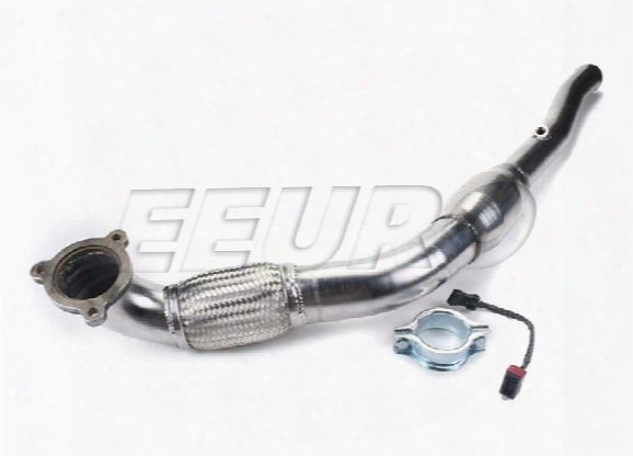 Mototec Volvo Exhaust Downpipe (w/ Hi-flow 200 Cell Catalytic Converter)