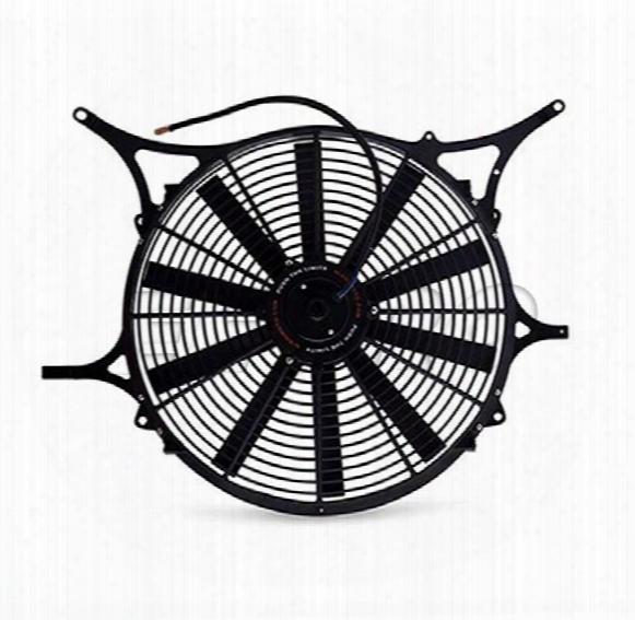 Performance Fan Shroud Kit (w/ Fan And Probe Kit) - Mishimoto Fse4699probe Bmw