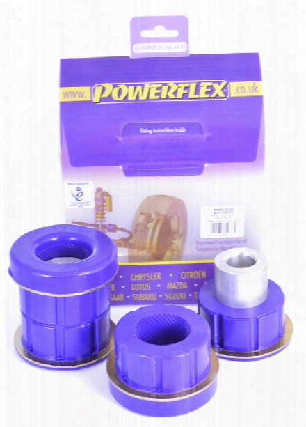 Powerflex Black Subframe Bushing Set - Rear Forward Bmw 33312283382