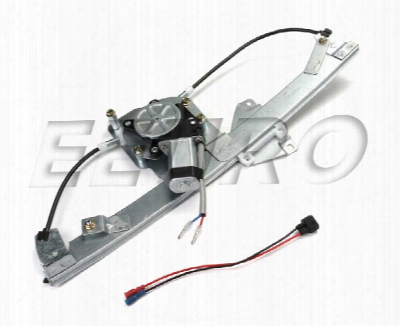 Window Regulator - Rear Driver Side (w/ Motor) - Proparts 82348805 Saab 32019496