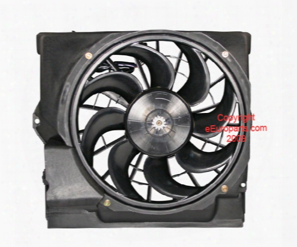Auxiliary Cooling Fan Assembly - Genuine Bmw 64508364093
