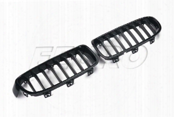 Bmw Kidney Grille Set (gloss Black) - Eeuroparts.com Kit