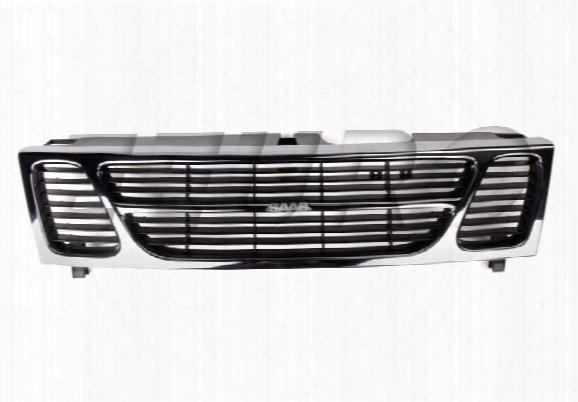Chrome Grille - Genuine Saab 4240867