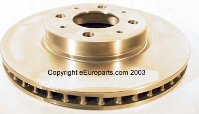 Disc Brake Rotor - Front - Zimmermann Volvo 31262091