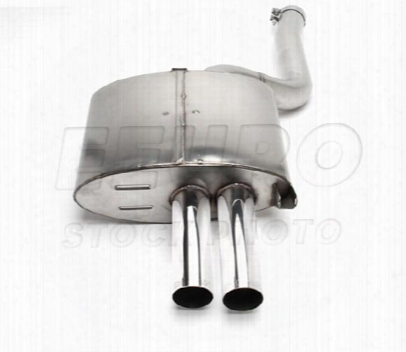 Free Flow Exhaust Muffler (w/ Polished Tips) - Dinan D6600020 Bmw