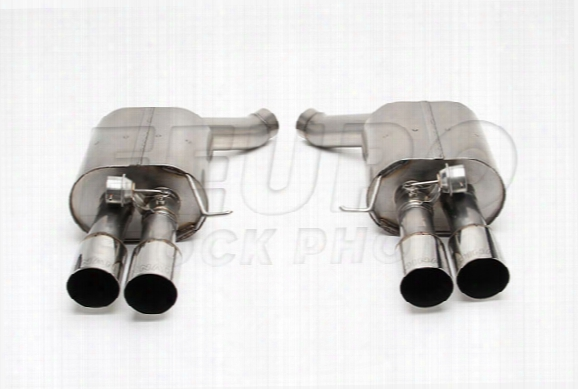 Free Flow Exhaust Muffler (w/ Polished Tips) - Dinan D6600049 Bmw