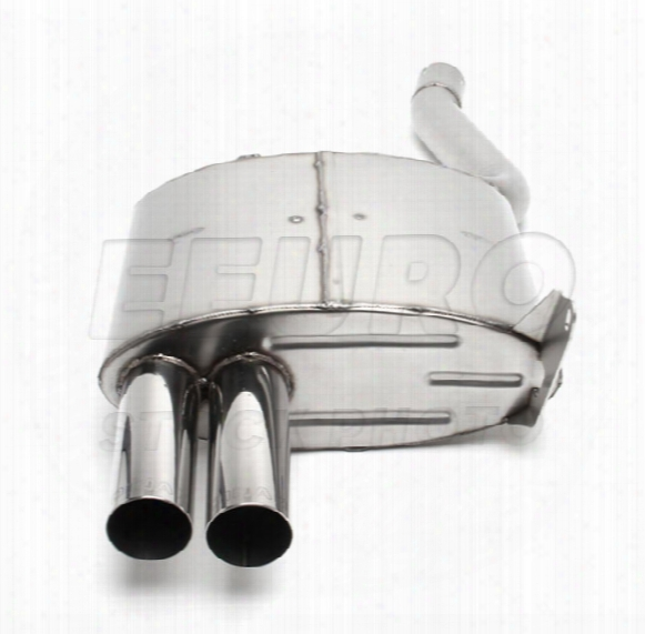Free Flow Exhaust Muffler (w/ Polished Tips) - Dinan D6609000 Bmw