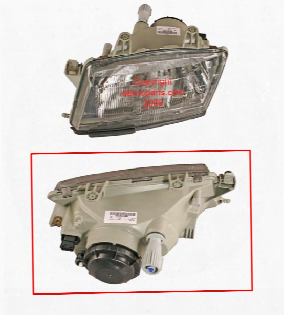 Headlight Assembly - Driver Side - Aftermarket Saab 4676391