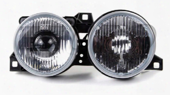 Headlight Assembly - Passenger Side (ellipsoid) - Genuine Bmw 63121385798