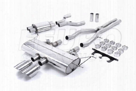 Jaguar Exhaust System Kit (cat-back) (performance) (valved W/ Polished Tips)