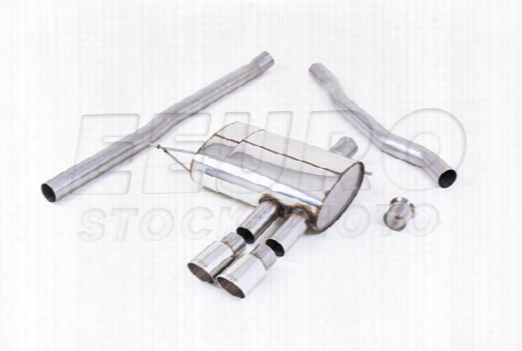 Mini Exhaust System Kit (cat-back) (performance) (non-resonated) (polished Tips)