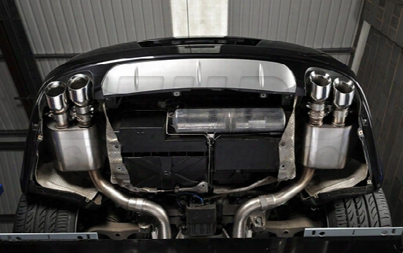 Porsche Exhaust System Kit (cat-back) (performance) (non-resonated) (titanium Tips)