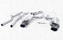VW Exhaust System Kit (Cat-Back) (Performance) (Non-Resonated) (w/ Valving) (Black Tips)