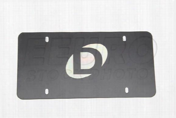 Universal Marque Plate (black) - Dinan D0100015 Bmw