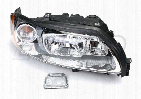Volvo Headlight Assembly - Passenger Side (xenon) (w/ Ballast) 102k10279